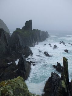 cape clear, ireland, misty and mystical
