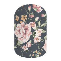Dusty Floral | Jamberry This matte finish, shabby-chic floral wrap is sure to bring out your inner vintage.