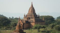 Bagan again this week (without supporting corrupt dictators, of course). Visit the great temples, like this one. See our website for details: doubtfultraveller.com