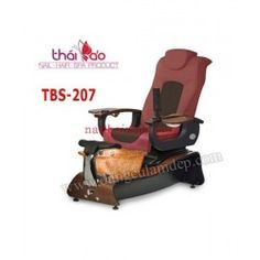 Ghe Spa Pedicure TBS207 Ghế Spa Pedicure là sản phẩm ghế chuyên nghiệp đang được rất ưa chuộng bởi các Nail Salon trên toàn thế giới. Ghế là sự kết hợp hoàn hảo giữa ghế nail thông thường cùng với ghế massage.