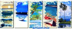 5 marine #sea #beach #boat #art #gift #palmas #landscapes