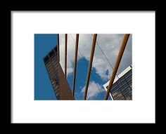 Photography Framed Print featuring the photograph Sky And Glass 3 by Janis Kirstein