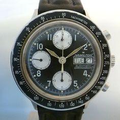 HAMILTON vintage chrono day date case 9367 caliber valjoux 7750