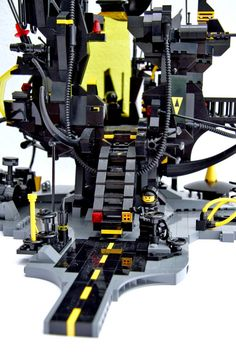 LEGO MOC   Blacktron Base #space