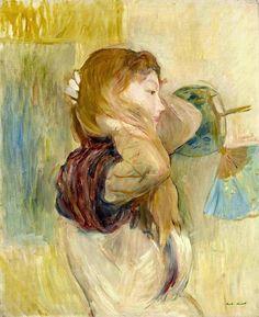 View Jeune femme relevant ses cheveux by Berthe Morisot on artnet. Browse upcoming and past auction lots by Berthe Morisot. Pierre Auguste Renoir, Edouard Manet, Camille Pissarro, Paul Cezanne, Edgar Degas, Claude Monet, Berthe Morisot, Mary Cassatt, Impressionist Paintings