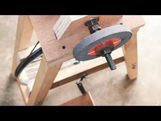 Homemade Project Using Bicycle Wheel || Make A Grinding Machine - YouTube
