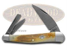 CASE XX Damascus Burnt Barnboard Bone Seahorse Whittler 1/500 Pocket Knife - CA2856 | 2856 - 021205028569