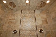 his/her shower