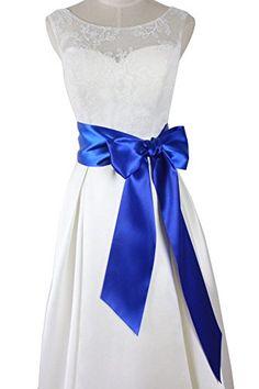 Lemandy Handmade Simple Bridal Wedding Dress Sash Belts B18 (Royal blue) Lemandy http://www.amazon.co.uk/dp/B01ARF7KQY/ref=cm_sw_r_pi_dp_NHZdxb1AF13XX