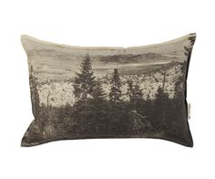 Pony Rider — BLACK FOREST CUSHION COVER GREY  | CUSHION | MOUNTAIN PATTERN | HOME DECOR