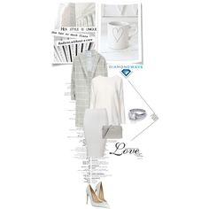 DiamondWave by isatusia on Polyvore featuring moda, Anine Bing, Gianvito Rossi, Michael Kors, Karl Lagerfeld and diamondwave
