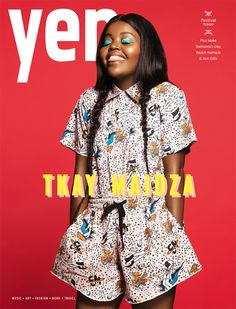 Yen Issue 87: Yen's festival issue returns filled with interviews, fashion, photos, beauty, a bunch of Laneway Festival tickets to win and we chat to cover star Tkay Maidza. Plus we've got lots to make – cute pom pom slides, monster shakes guaranteed and gift wrap ideas – and our ultimate gift round-up, beach nomads and a guide to making someone's day.  yenmag.net