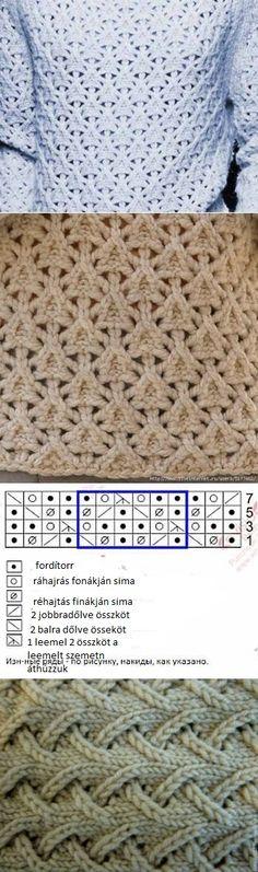 knitting blousa