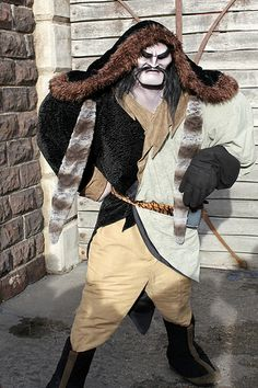 Shan Yu from Mulan I'm so intimidated by him it's like I have to pin it.