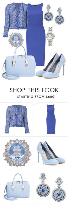 """"" by queen-naznaz ❤ liked on Polyvore featuring Alice + Olivia, Antonio Berardi, Miu Miu, Opening Ceremony, Harry Winston and H&M"