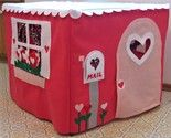 Card table play house.  How fun.