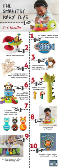 Smartest Baby Toys 3-6 Months ~ MightyMoms.club