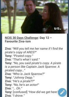 NCIS Ziva and Tony - Zivaism