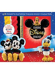 """Buy Disney Classic Crochet by Megan Kreiner at Mighty Ape NZ. If you wish upon a star for a whole cast of crochet classic Disney characters, you re in luck. """"Disney Classic Crochet"""" includes everything necessary . Mickey Mouse Y Amigos, Mickey Mouse And Friends, Minnie Mouse, Disney Crochet Patterns, Amigurumi Patterns, Stuffed Animals, Crochet Toys, Free Crochet, Crochet Stitch"""