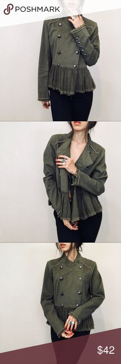 """Brand new free people Brand new  Size S running big  Length 24"""" Bust 40"""" open- jacket or top Free People Jackets & Coats"""
