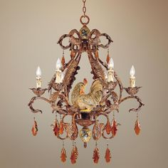 """tracy porter home collection   Tracy Porter Clyde Collection 28"""" Wide Chandelier   LampsPlus.com"""
