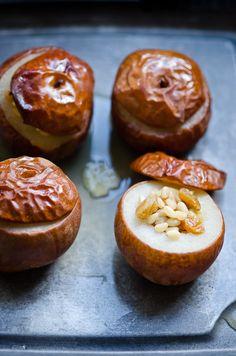 Baked Nashi Pears | At Down Under | Viviane Perenyi