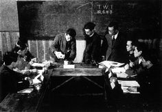 JI Demonstration in Japan, 1951. TWI Bryan Lund