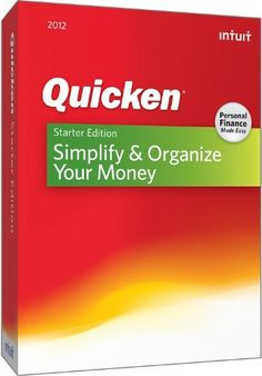 http://pfpins.com/quicken-starter-edition-2012/ Quicken Starter Edition Personal Finance Software helps you simplify and organize your money so you can see where you're spending