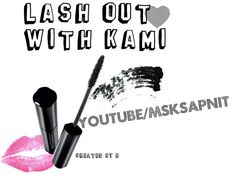 """""""Lash out with Kami"""" by Emily Attwood"""