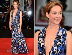 Effortless Cristiana Capotondi In Marni - 'Hungry Hearts' Venice Film Festival Premiere