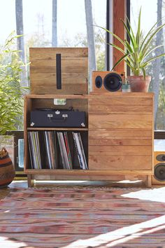 10 incredible record player consoles to reimagine your living space - The Vinyl Factory - the Home of Vinyl Record Player Console, Record Players, Record Table, Record Stand, Vynil, Vinyl Record Collection, Muebles Living, Vinyl Record Storage, Record Shelf