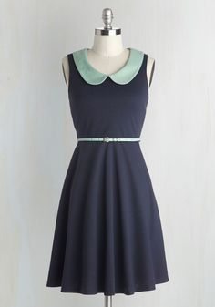 Work to Play Dress in Navy, @ModCloth