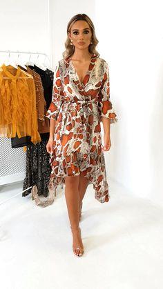 Pia Snake Print Maxi Dress at ikrush Petite Dresses, Stylish Dresses, Fashion Dresses, Sew Your Own Clothes, Bridesmaid Robes, Bridal Robes, Fashion Fabric, The Dress, Pattern Fashion