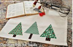 Christmas Tree Tea Towels