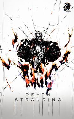 Dead Stranding, Archangel Tattoo, Best Gaming Wallpapers, Kojima Productions, Anime Military, Gear Art, Metal Gear, Art Background, Pretty Art