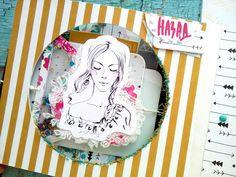 Творческая мастерская Мемуарис: Вдохновение от дизайнера Larisa Happy: интерактивный альбом