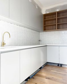 Beach House Kitchens, Home Kitchens, Kitchen Reno, Kitchen Cabinets, Beaumont Tiles, Kitchen Gallery, White Rooms, White Tiles, Other Rooms
