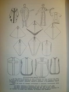 Evolution of the Chasuble