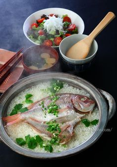 Sea Bream Rice 鯛めし