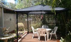 Replacement mesh gazebo roof