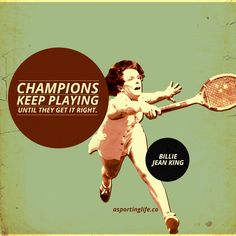 http://www.asportinglife.co/  #BillieJeanKing #sportsquotes #quotes