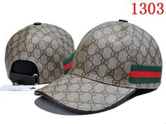 separation shoes 0fb4b c338d Gucci Original GG Leather Baseball Hat with Web Gorras, Accesorios, Estilo,  Ropa,