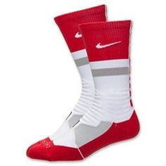 Nike Hyper Elite Fanatical Crew Socks from Finish Line. Nike Elites, Athletic Socks, Athletic Wear, Athletic Clothes, Nike Basketball Socks, Basketball Stuff, Basketball Birthday, Nike Elite Socks, Colorful Socks