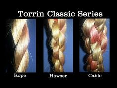 Using the simple rope braid, let's make three completely different and awesome braids based on actual ropes. Special thanks, as always, to Andrew, for his na...