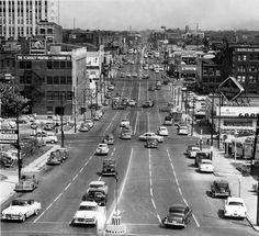 Kansas City, Truman Road, 1953.