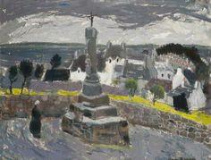 La Croix de St Jean, Tréboul c.1955 by Anne Redpath (Scottish 1895–1965)