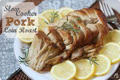 Easy Slow Cooker Pork Loin | MyBlessedLife.net