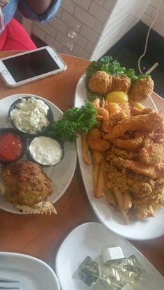 Epic seafood platter