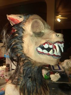Werewolf Mask......available