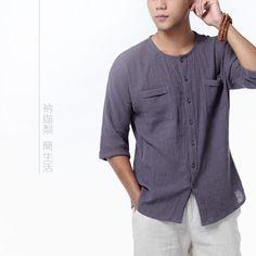 -font-b-Nakali-b-font-Chinese-Traditional-Mens-Zen-Casual-font-b-Shirt-b-font.jpg (750×750)